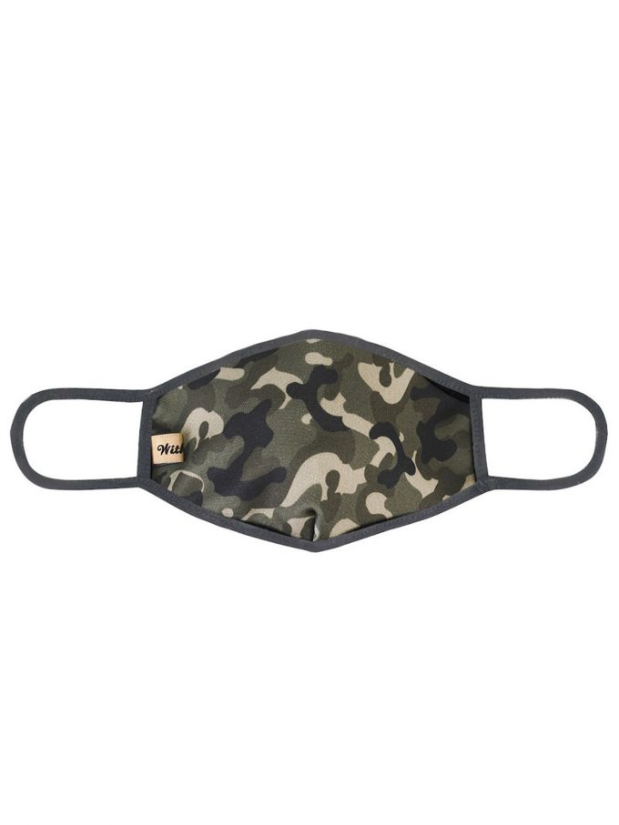 Army Print Fashion Mask 3