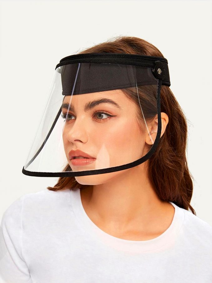 Talk to Me Face Shield-Black 1