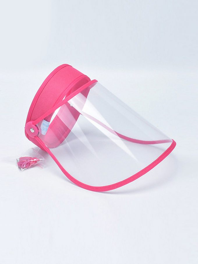 Talk to Me Face Shield-Pink 1