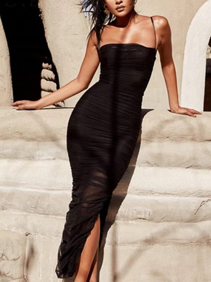 Layla Ruched Bodycon Dress 1