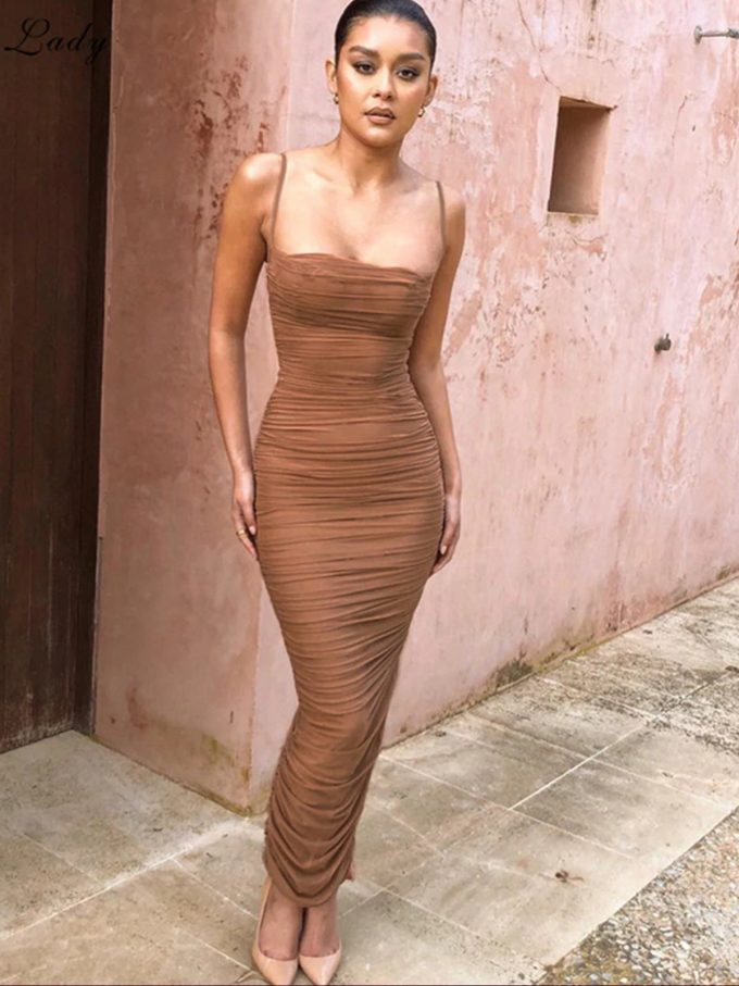 Layla Ruched Bodycon Dress 9