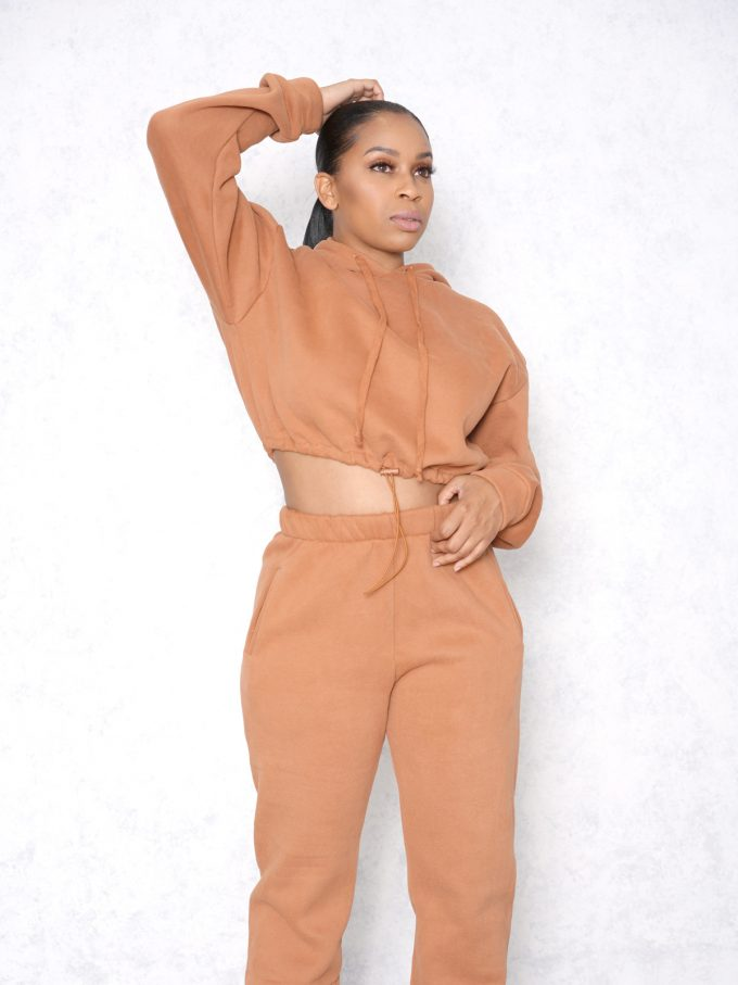 Drizzy Two Piece Sweat Suit 3