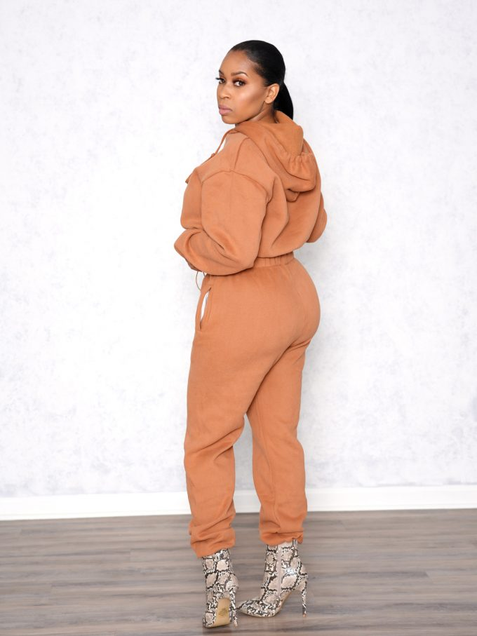 Drizzy Two Piece Sweat Suit 2
