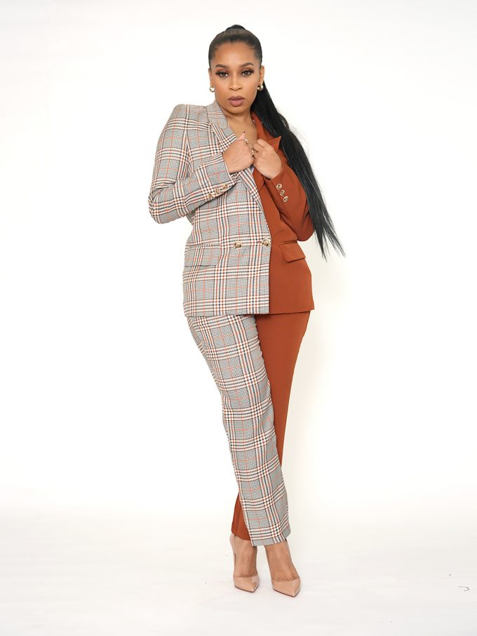 Half and Half Two Tone Suit 19