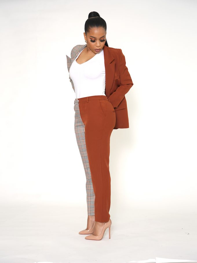 Half and Half Two Tone Suit 13