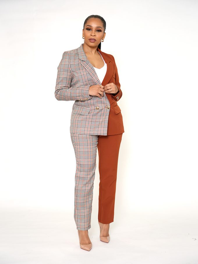 Half and Half Two Tone Suit 9