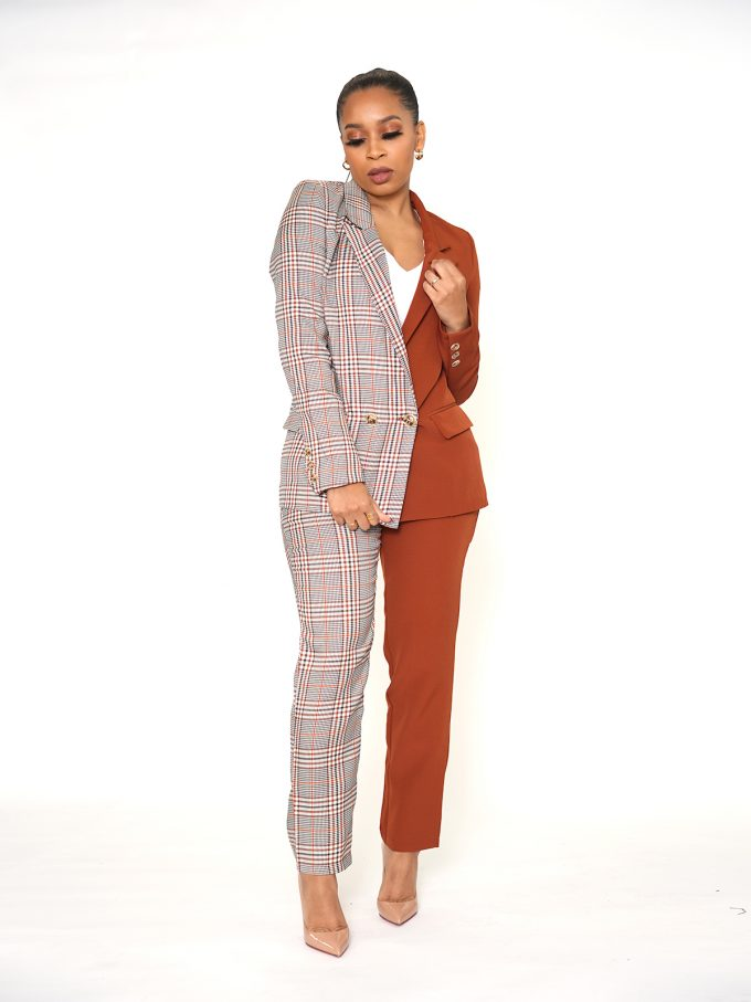 Half and Half Two Tone Suit 1