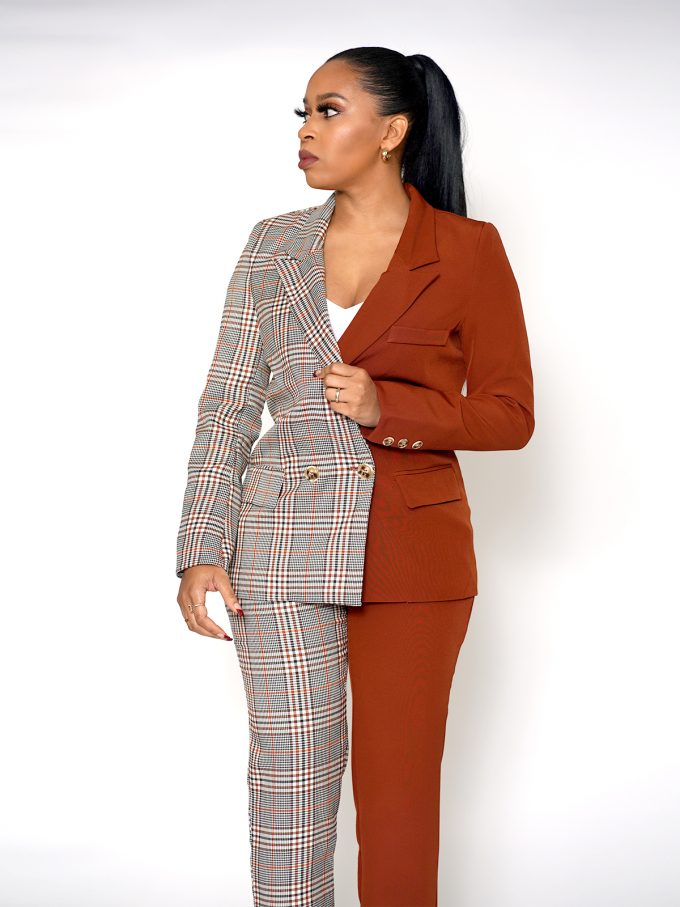 Half and Half Two Tone Suit 2