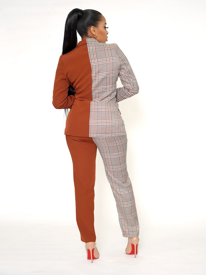 Half and Half Two Tone Suit 5