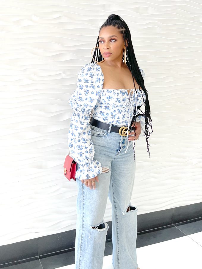 Floral Cropped Corset Top 3